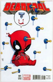 Deadpool #1 Skottie Young Baby Variant (2013) NM+ Marvel Now comic book